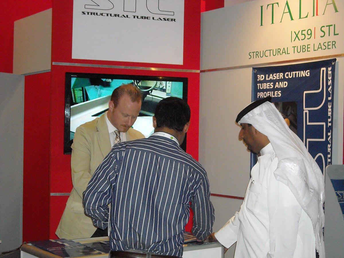 Fiera Project Qatar Doha 2012 | STL Italia