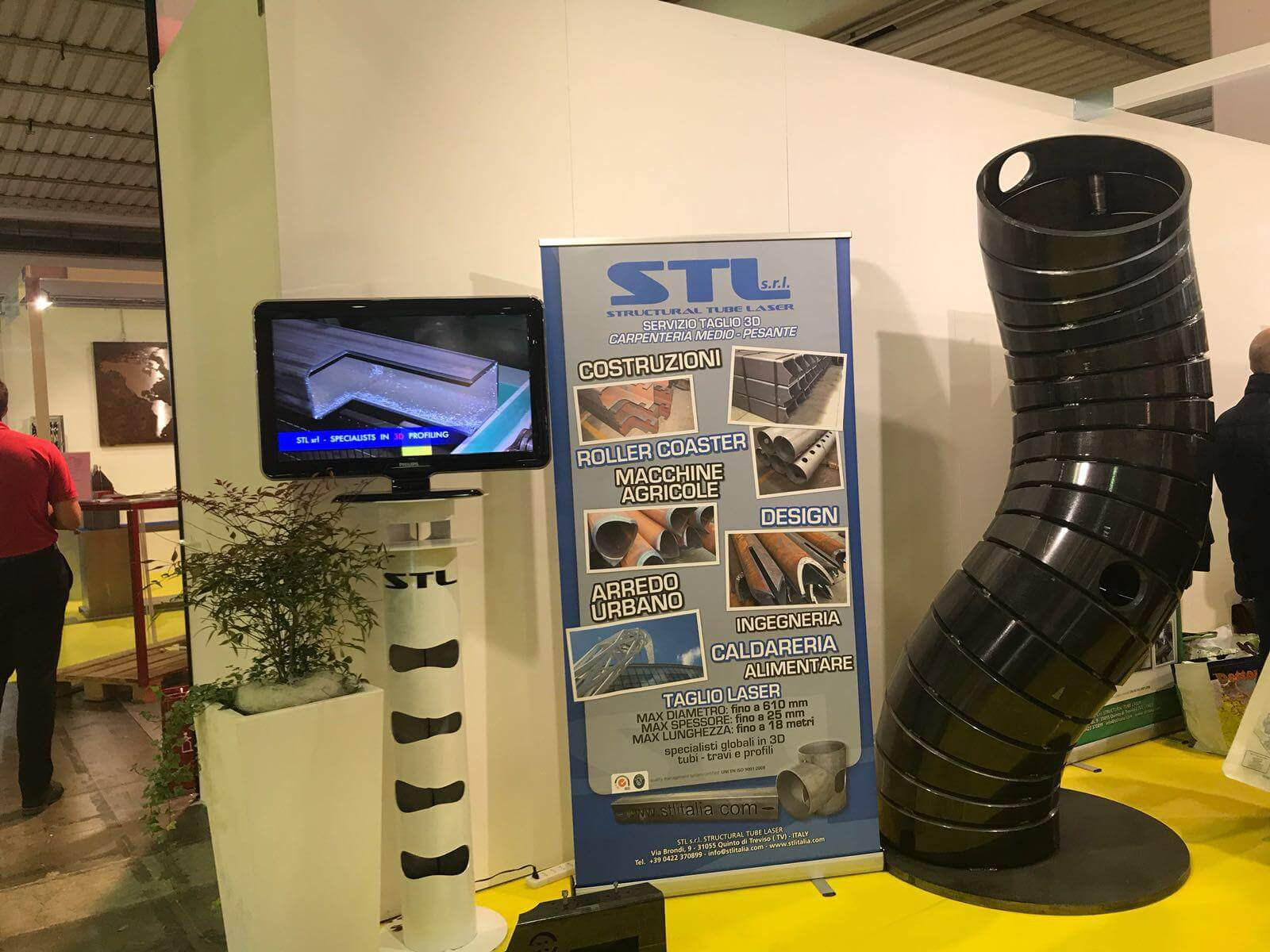 Fiera Samumetal Subtech 2018 STL Italia